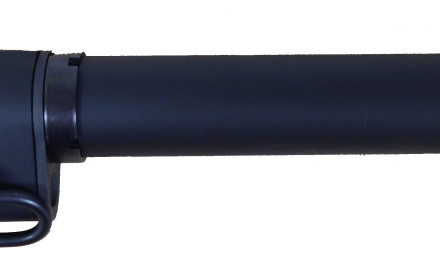 The SB 15 Brace Adapter utilizes an extended length buffer tube which is designed to function with