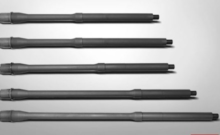 FNH-USA's AR-15 5.5mm barrels are hammer forged using Chrome Moly Vanadium steel and are magnetic