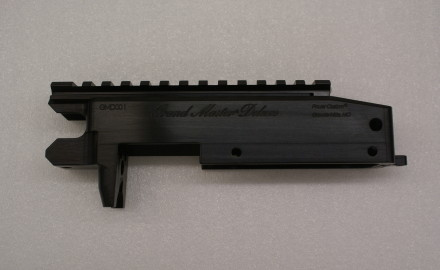 Grandmaster Deluxe Action for the Ruger 10/22 is CNC'd from aerospace grade 6061T billet aluminum