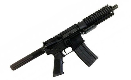 The MGI Hydra Vipera .223 / 5.56mm Pistol incorporates MGI's Quick Change Barrel Upper Receiver and