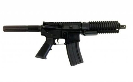 The Hydra Vipera .223 / 5.56mm Pistol incorporates MGI's Quick Change Barrel Upper Receiver and