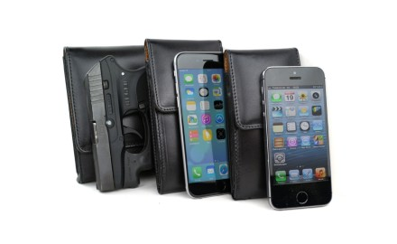 The Pholster is Sneaky Pete's version of a cell phone case, made for phones, iPads and Amazon