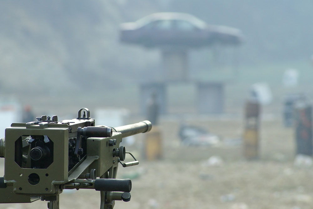 transferable machine gun