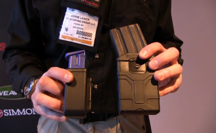 Blackhawk has introduced two new quick-mod belt-mounted magazine cases at the 2015 SHOT Show.