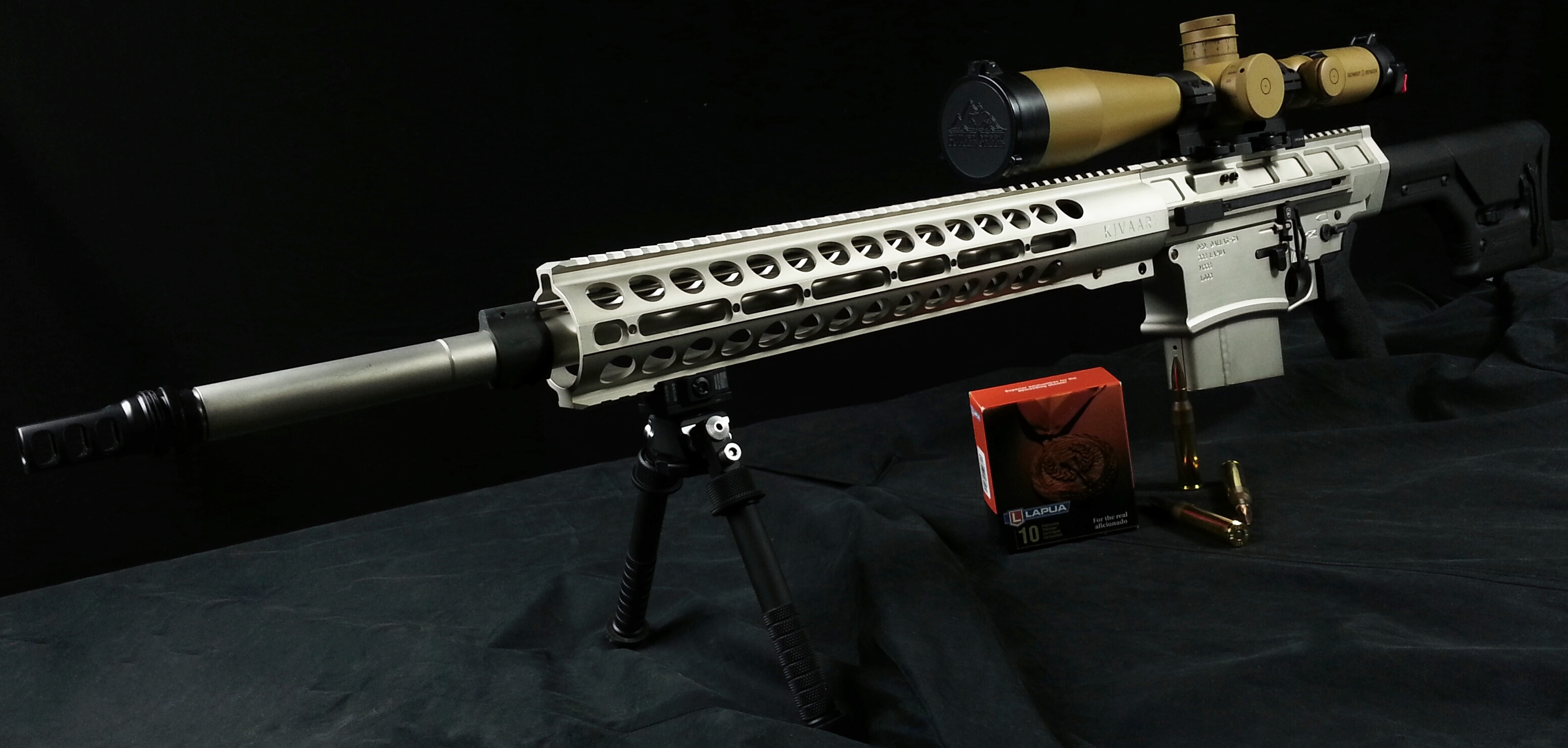 DRD Tactical's KIVAARI in .338 Lapua Magnum