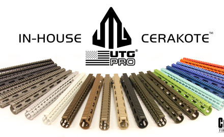 Leapers/UTG has opened its own certified in-house Cerakote shop, and we are now offering their made