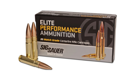 SIG SAUER's subsonic 300 Blackout Elite Performance Ammunition Match Grade ammunition features a