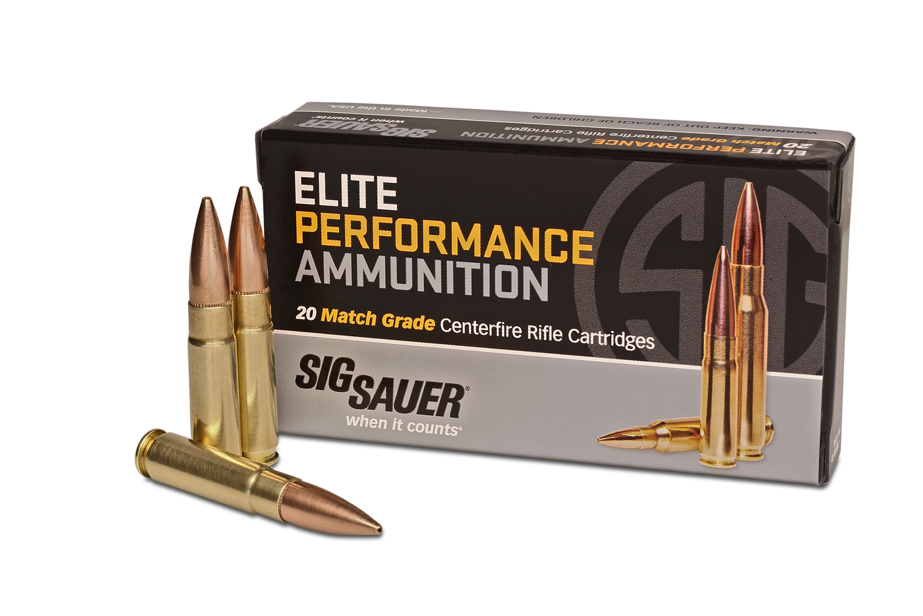 SIG SAUER 300 Blackout Elite Performance Ammunition