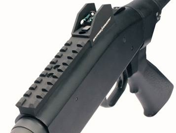 Designed for Mossberg 500, 590, 590A and 930 shotguns, the MX Ghost Ring Sight System features