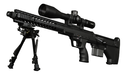 The SRS-A1 from Desert Tech is the most versatile Sniper Rifle system in the world. It is nearly a