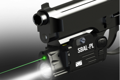 Steiner announces the SBAL-PL combines a green laser aiming module with a 500-lumen white-light