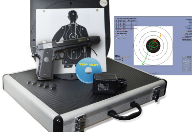 TOP GUN Computer-aided Marksmanship Training System allows users to practice in any indoor space