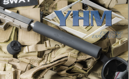 This suppressor uses a new high efficiency monolithic baffle design, which is fully user