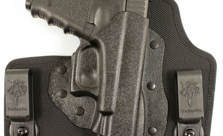 DeSantis' Invader M65 is an IWB holster is precision thermo-molded from sturdy Kydex(R) sheet. The