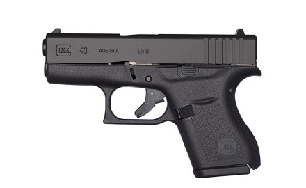 The new G43, GLOCK's first single stack, 9mm pistol, is designed for concealed carry by police and