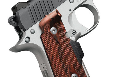 Kimber's new mini 1911-type pistol is chambered in .380 ACP and features a steel slide, aluminum
