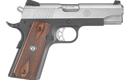 Ruger has introduced a Lightweight version of their popular SR1911 Commander pistol. Features