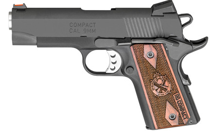 The new 1911 Range Officer Compact 9mm from Springfield Armory was designed for concealed carry by