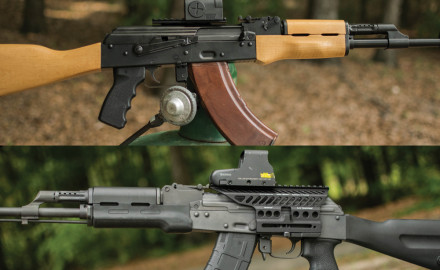 Manufacturers are now producing American AK rifles instead of importing rifles and parts kits. See how two of these rifles performed against each other.