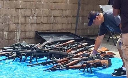 USA CALIFORNIA GUN CACHE FOUND