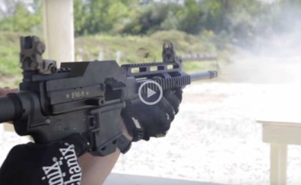 Sure, you've seen belt-fed machine guns on the internet before, but how about a belt-fed AR-15?
