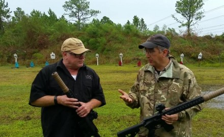 David Fortier speaks with Mark LaRue of LaRue Tactical at Big 3 East about his new SURG suppressor