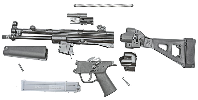 Atlantic-Firearms-Omega-10-Pistol-disassembly