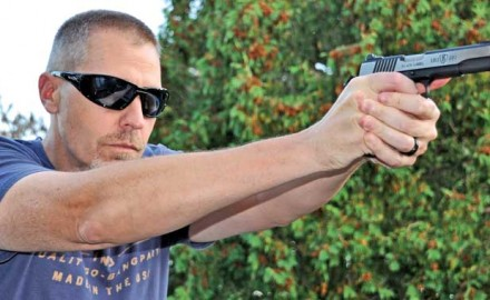Browning has seen a lot of success with its reduced-size .380 ACP 1911s, and the beautiful Black Label Medallion Pro Full Size is one of the latest models.  It is a lot of fun to shoot.