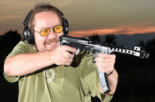 Shooting is supposed to be fun, right? Well, it's really hard to beat a replica of a World War II-era Soviet burp gun for an entertaining day at the range.