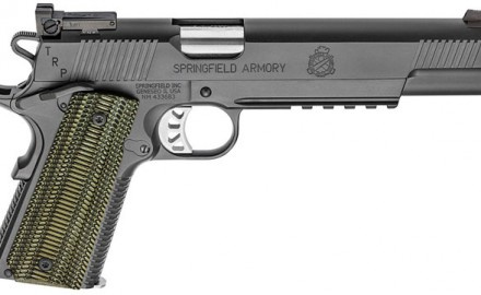 Springfield released two new TRP models, one with a 5-inch barrel and a long-slide with a 6-inch barrel