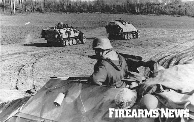 The Sd.Kfz. 251 proved to be a valuable armored personal carrier transporting panzergrenadiers across the battlefield and into the fight.