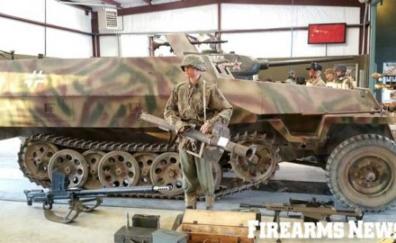 The German Sd.Kfz. 251 halftrack was adopted in 1939 and served in a variety of rolls throughout World War II.