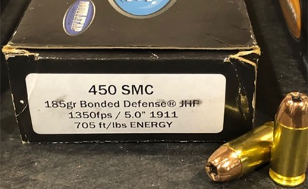 CMMG has announced its MkG GUARD has been tested, and safely rated for 450 SMC.