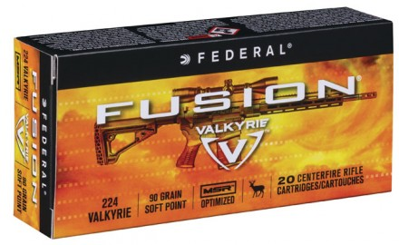 New for 2018, Federal Premium Ammunition has introduced the .224 Valkyrie cartridge, a round that reportedly brings great ballistics and superb accuracy downrange. (Photo courtesy of Federal Premium Ammunition)