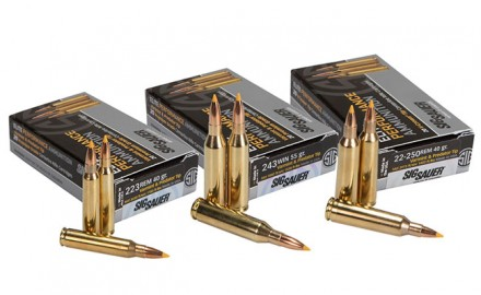 SIG SAUER has introduced a new line of Varmint & Predator (V&P) Elite Performance Ammo.