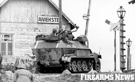 The Sd.Kfz. 251 provided both mobility and protection while being able to traverse difficult terrain impassable to a conventional wheeled vehicle.