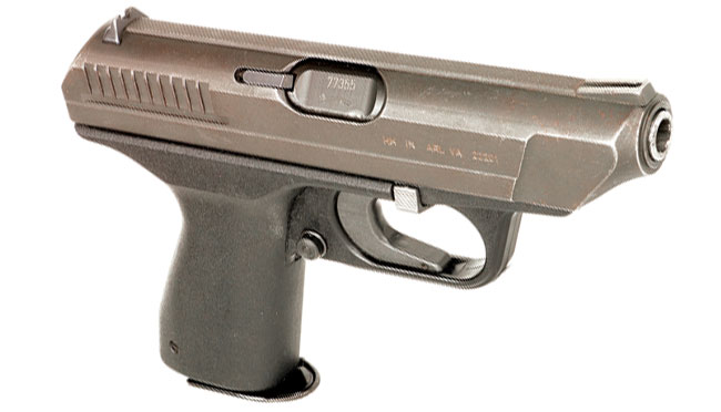 The HK VP70 was the world's first mass-produced polymer-framed handgun. While the materials science was revolutionary and the design cutting edge, the trigger was incompatible with the human hand.