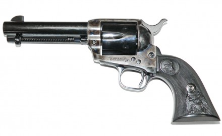 Thanks to Hollywood Westerns, the M1873 Colt Single Action Army (SAA) is the world's most recognized pistol.