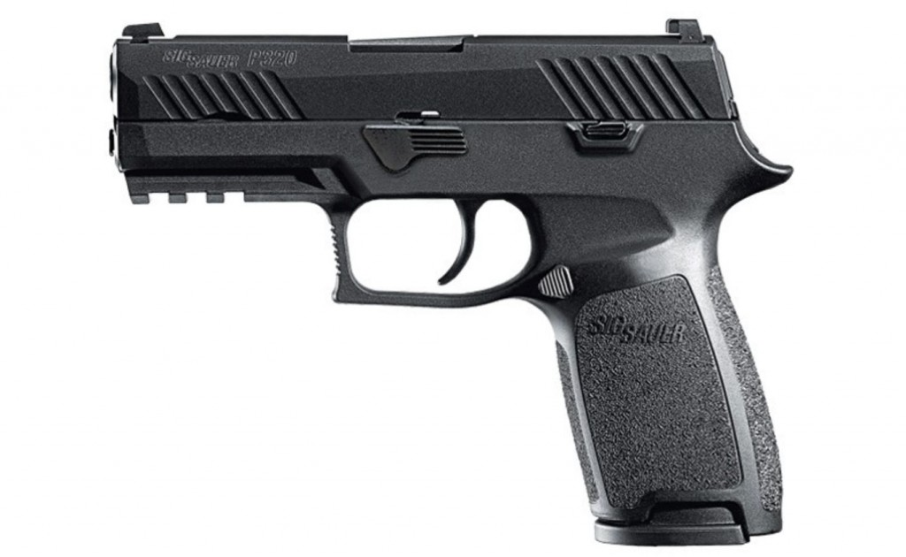 The P320 Nitron Carry is one of the approved pistols for the Chicago Police Department.