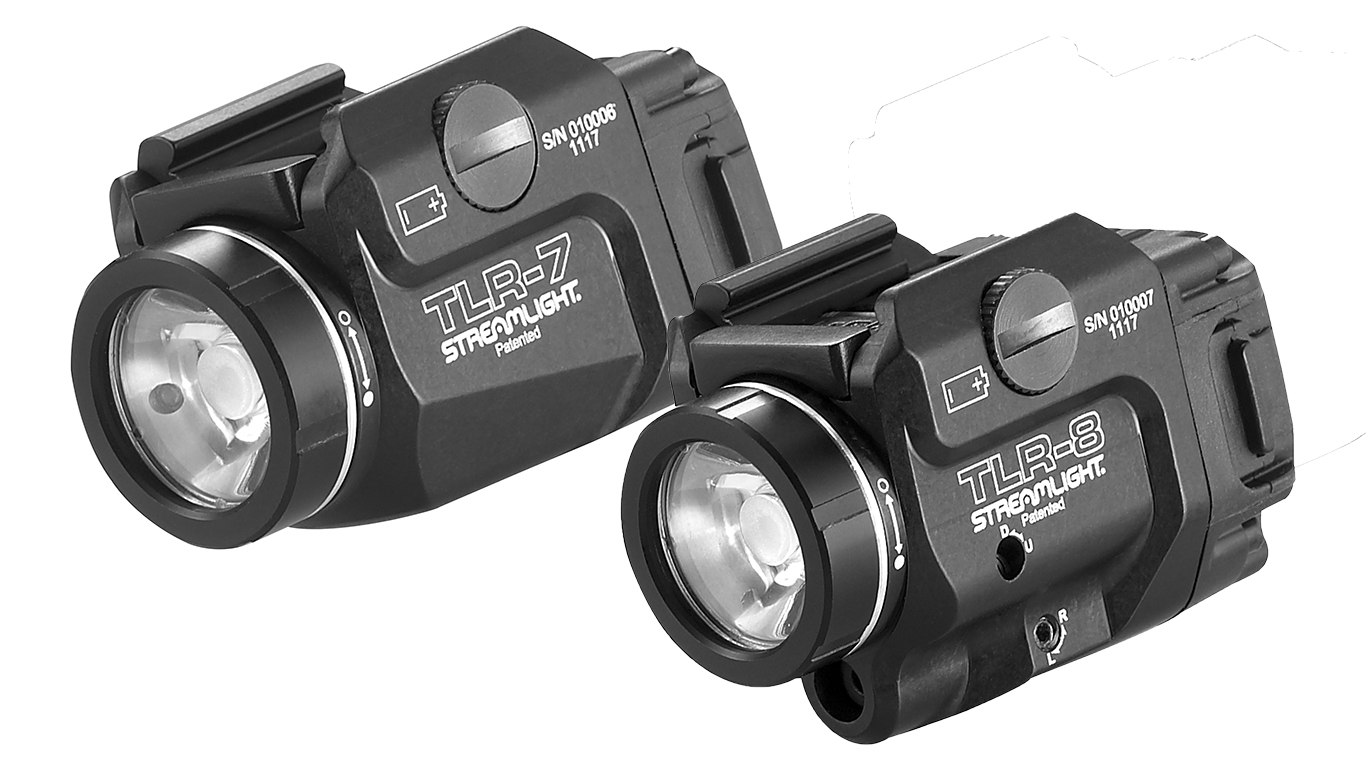 Streamlight TLR-7 and TLR-8 Pistol Lights