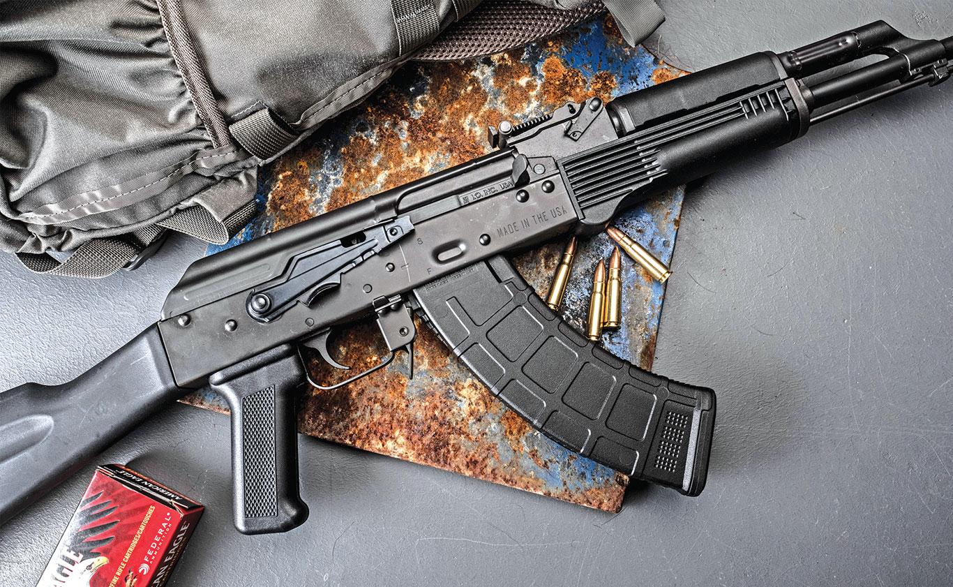"""You can take an AK, throw it in the mud, shake it off and it'll run as if it was just out of the armory."""