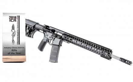 Patriot Ordnance Factory, POF-USA, announced their winning of the Rifle of the Year award from the 2018 Firearms Industry Choice Awards for a second year running.