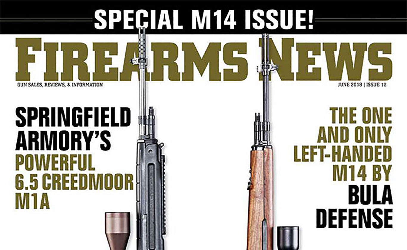 Now on the Newsstands: Special M14 Issue- Firearms News #12, June 2018