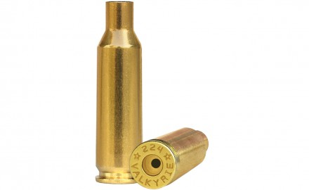Starline Brass adds to their growing line with the release of .224 Valkyrie brass.