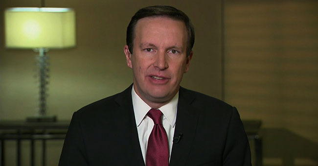 Source: CNN.com Democratic Senator from CT, Chris Murphy