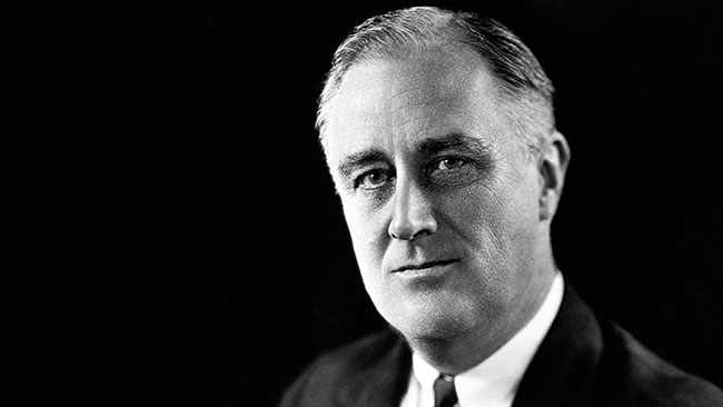 Source: History.com The 32nd President of the United States of America, Franklin D. Roosevelt.