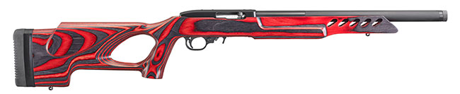 10/22 Target Lite with Red and Black Laminate Stock