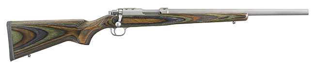 The Ruger 77/17 in .17 WSM with Green Mountain Laminate Stock.