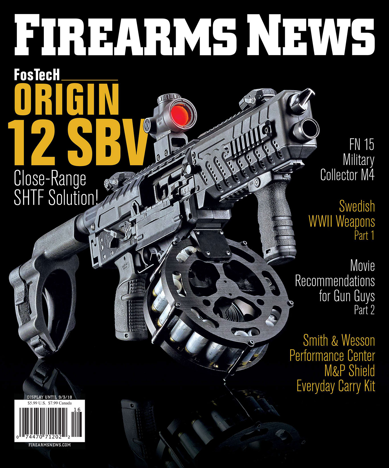 Firearms News August 2018 – Issue 16