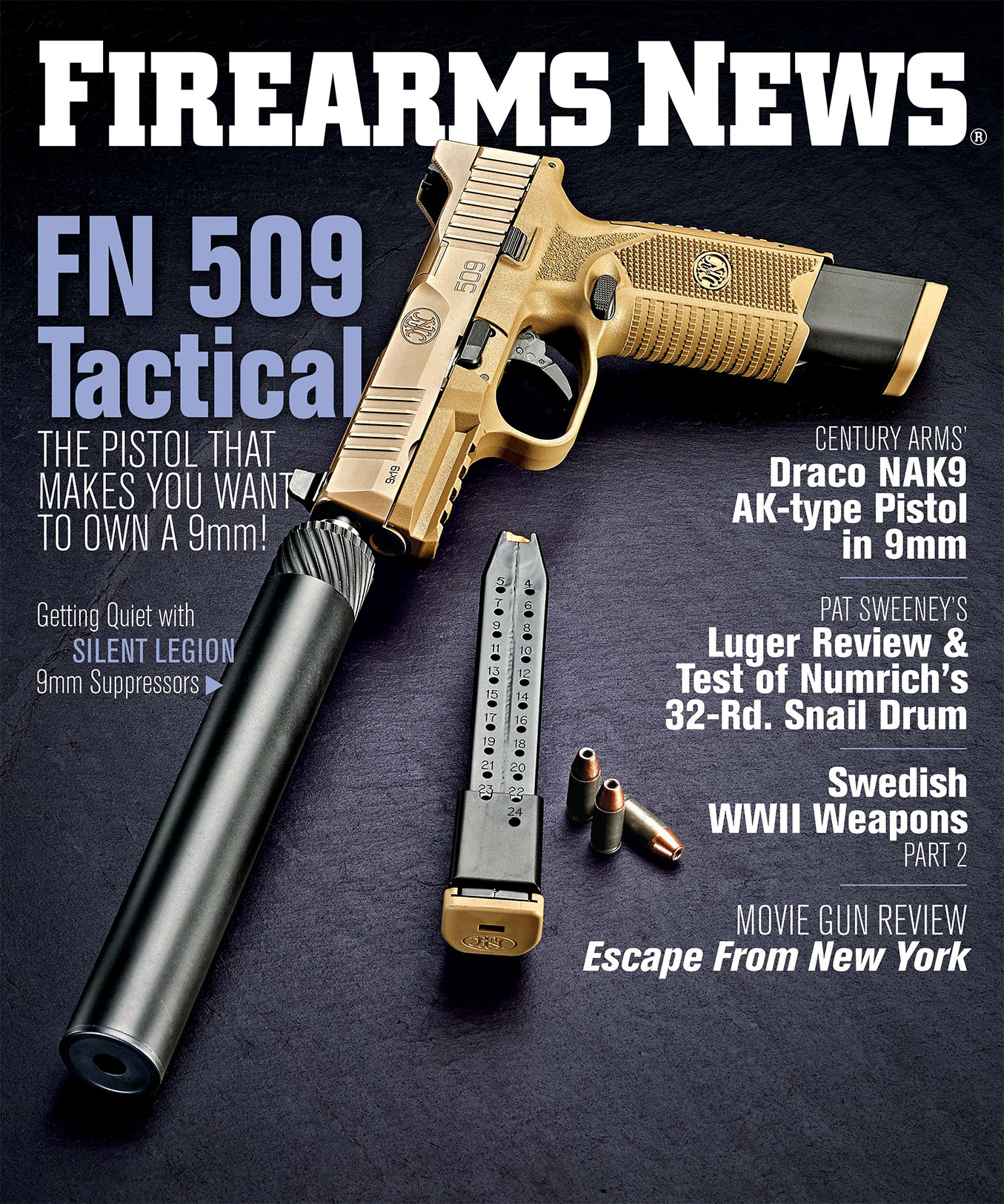 Firearms News September 2018 – Issue 17